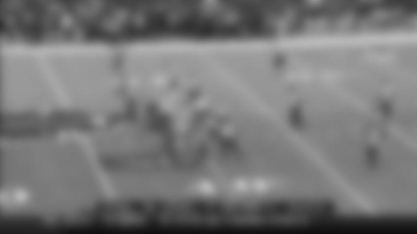 Devin Singletary cuts through Ravens' D for explosive 38-yard run