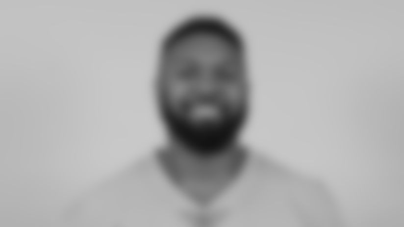 This is a 2019 photo of Jonathan Woodard of the Miami Dolphins NFL football team. This image reflects the Miami Dolphins active roster as of Monday, April 15, 2019 when this image was taken. (AP Photo)