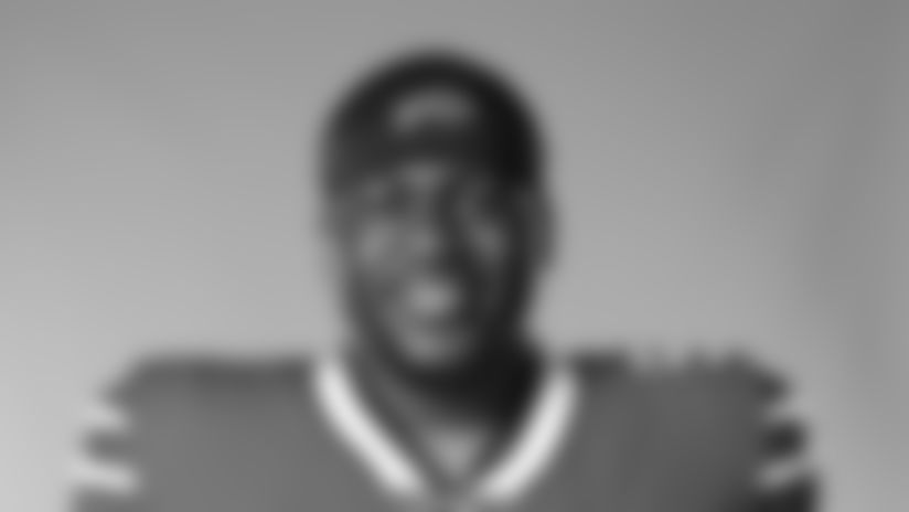 This is a 2020 photo of Bryan Cox Jr. of the Buffalo Bills NFL football team. This image reflects the Buffalo Bills active roster as of August 1, 2020 when this image was taken.  (AP Photo)