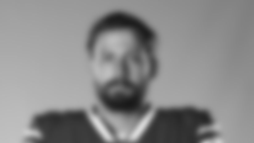 This is a 2020 photo of Davis Webb of the Buffalo Bills NFL football team. This image reflects the Buffalo Bills active roster as of July 28, 2020 when this image was taken.  (AP Photo)