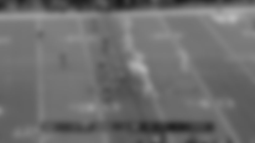 Josh Allen uncorks cross-body laser to Cole Beasley for 25 yards
