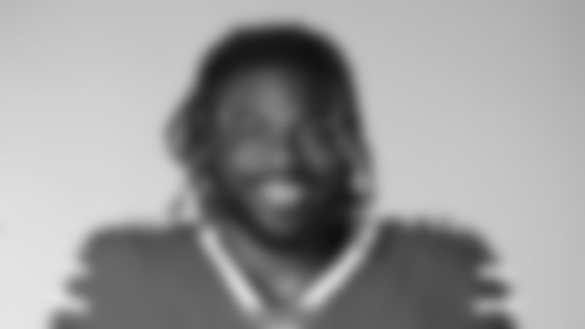 This is a 2020 photo of Zack Moss of the Buffalo Bills NFL football team. This image reflects the Buffalo Bills active roster as of July 26, 2020 when this image was taken.  (AP Photo)