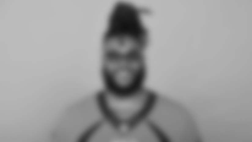 This is a 2018 photo of Billy Turner of the Denver Broncos NFL football team. This image reflects the  active roster as of Tuesday, June 12, 2018 when this image was taken. (AP Photo)