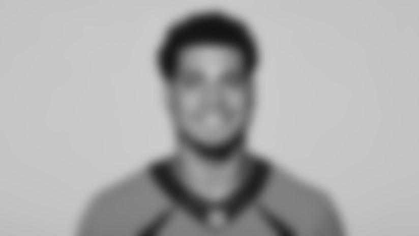 This is a 2021 photo of Albert Okwuegbunam of the Denver Broncos NFL Football team.