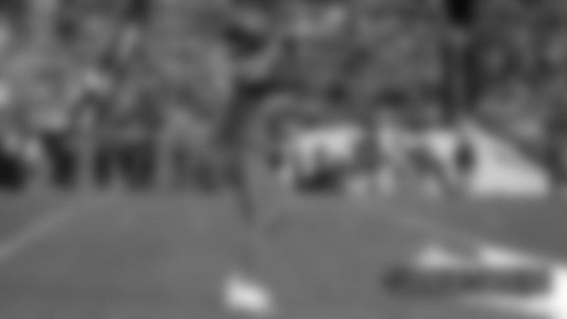 #DETvsDEN: Jeremiah Attaochu explodes up the middle for sack