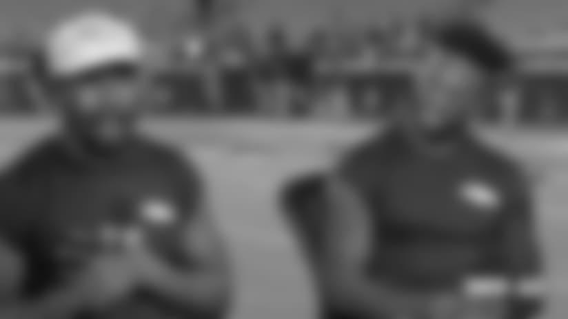 #DENvsAZ: Von Miller, Emmanuel Sanders talk with 'Thursday Night Football' crew after Broncos' blowout win