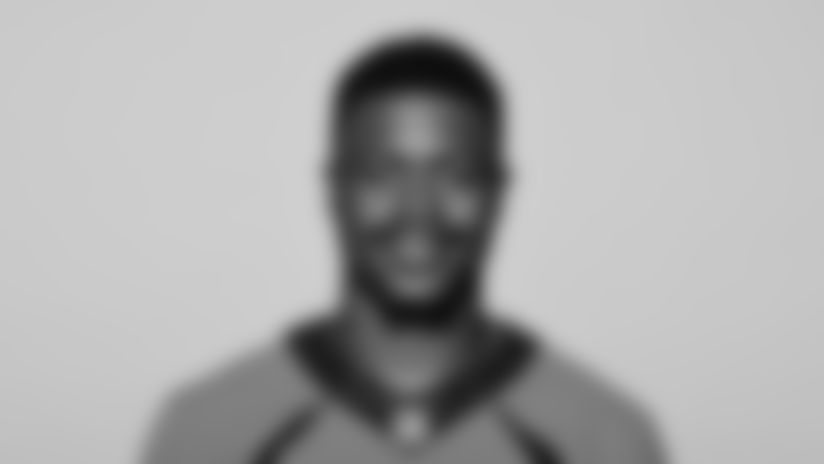 This is a 2021 photo of Levante Bellamy of the Denver Broncos NFL Football team.