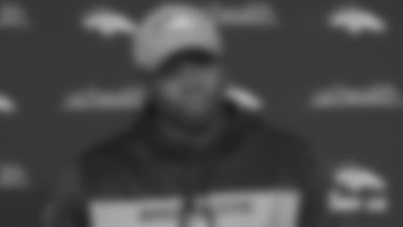 Joseph: Broncos like winning feeling, turning focus to Chiefs