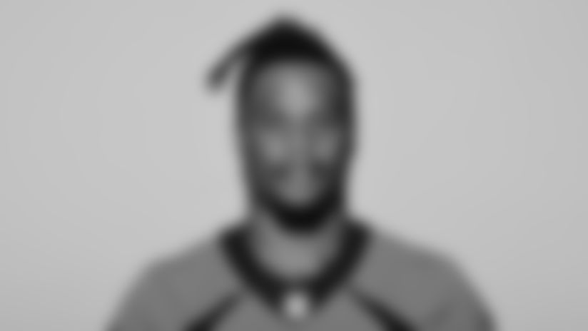 This is a 2021 photo of Josh Watson of the Denver Broncos NFL Football team.