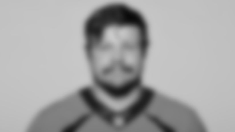 This is a 2021 photo of Graham Glasgow of the Denver Broncos NFL Football team.
