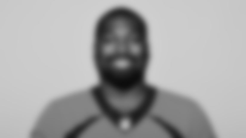This is a 2021 photo of Shelby Harris of the Denver Broncos NFL Football team.