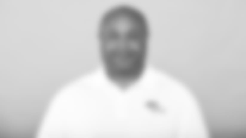 This is a 2018 photo of Curtis Modkins of the Denver Broncos NFL football team. This image reflects the  active roster as of Sunday, June 10, 2018 when this image was taken. (AP Photo)