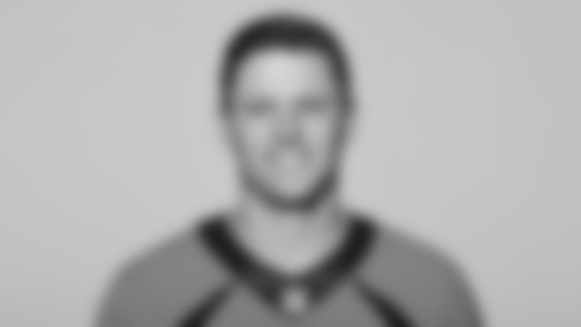 This is a 2021 photo of Brett Rypien of the Denver Broncos NFL Football team.