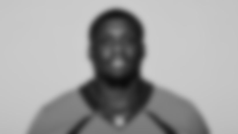 This is a 2021 photo of Lloyd Cushenberry III of the Denver Broncos NFL Football team.