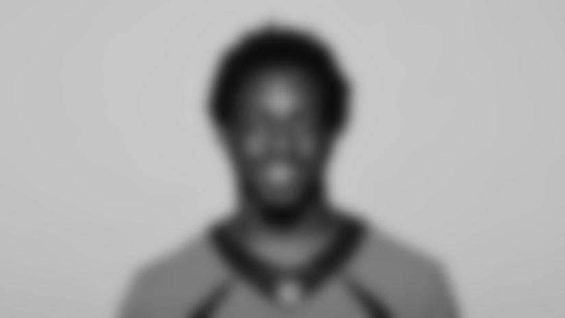 This is a 2021 photo of KJ Hamler of the Denver Broncos NFL Football team.