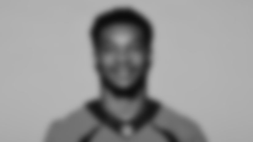 This is a 2021 photo of Branden Mack of the Denver Broncos NFL Football team.