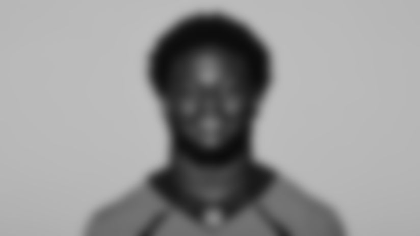 This is a 2021 photo of Javonte Williams of the Denver Broncos NFL Football team.