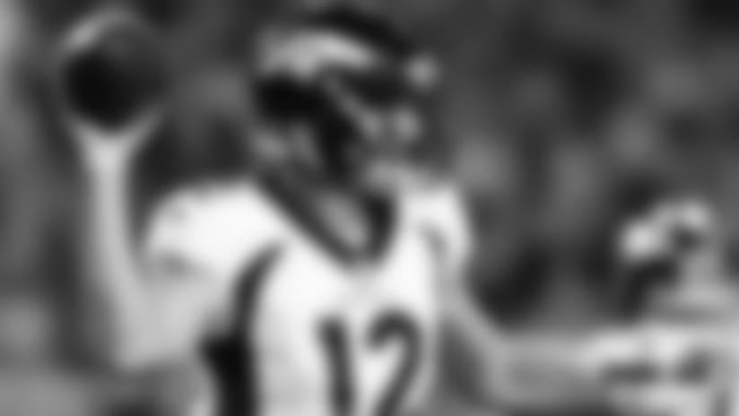 Paxton Lynch: 'Felt good' to play well vs. Cardinals