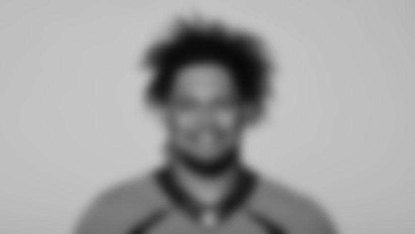 This is a 2021 photo of Netane Muti of the Denver Broncos NFL Football team.