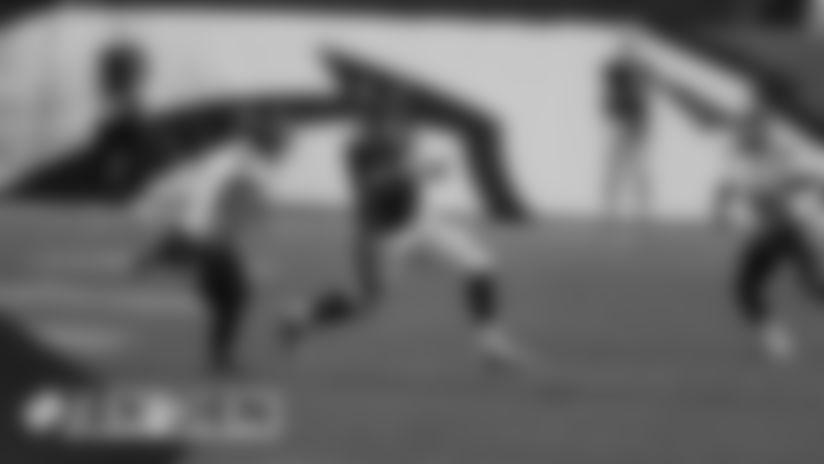 #TENvsDEN: Noah Fant catches pass for 31-yard gain