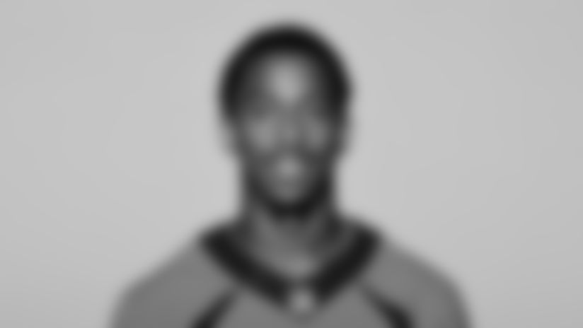 This is a 2021 photo of Trinity Benson of the Denver Broncos NFL Football team.