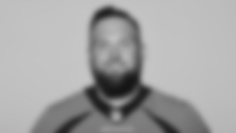 This is a 2021 photo of Dalton Risner of the Denver Broncos NFL Football team.