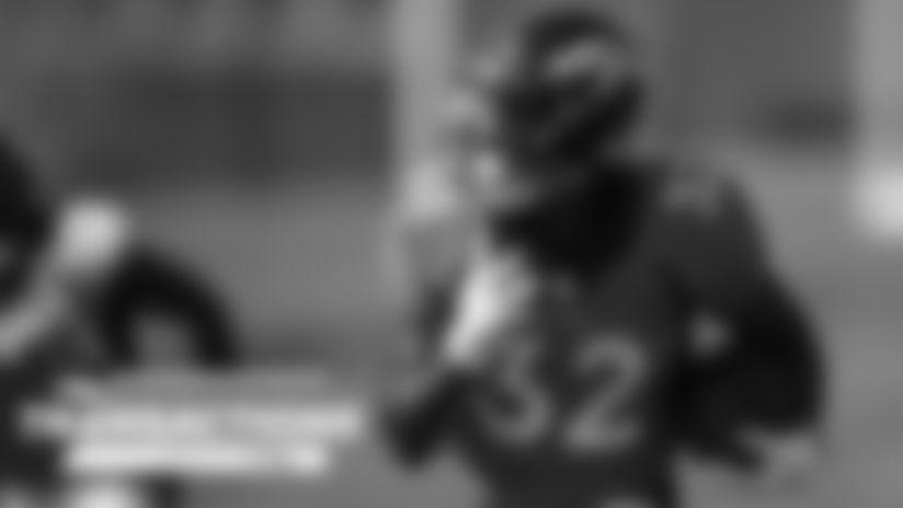 Broncos elevate OLB Derrek Tuszka, RB LeVante Bellamy from practice squad for #DENvsPIT