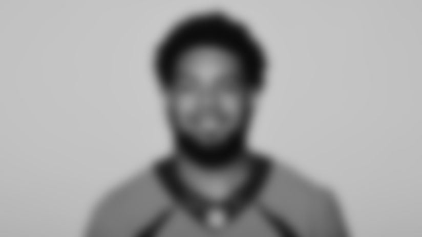 This is a 2021 photo of P.J. Locke of the Denver Broncos NFL Football team.