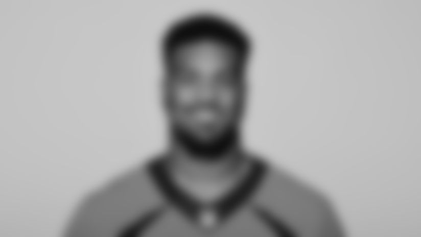 This is a 2021 photo of Dre'Mont Jones of the Denver Broncos NFL Football team.