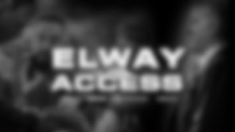 Elway Access: Week 15