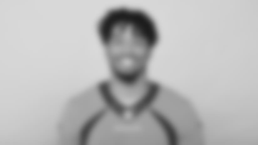 This is a 2018 photo of Tim Patrick of the Denver Broncos NFL football team. This image reflects the  active roster as of Monday, June 11, 2018 when this image was taken. (AP Photo)