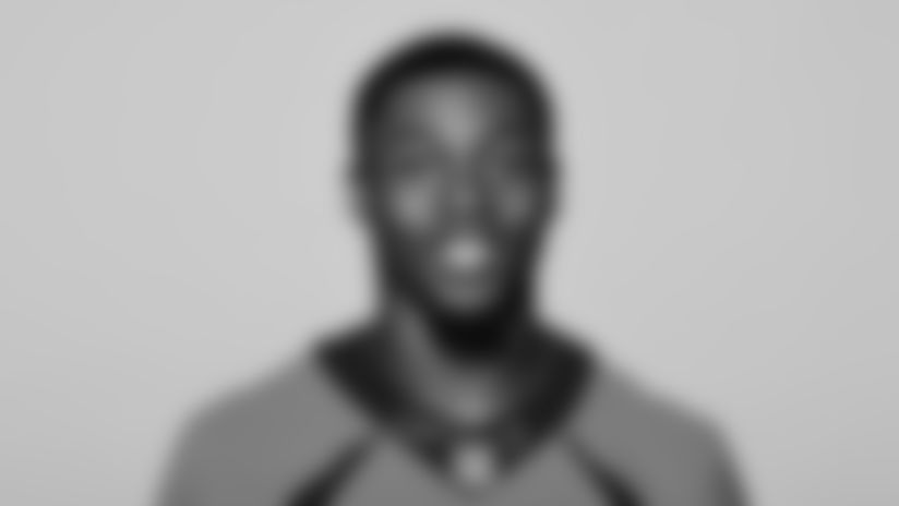 This is a 2021 photo of Mike Boone of the Denver Broncos NFL Football team.