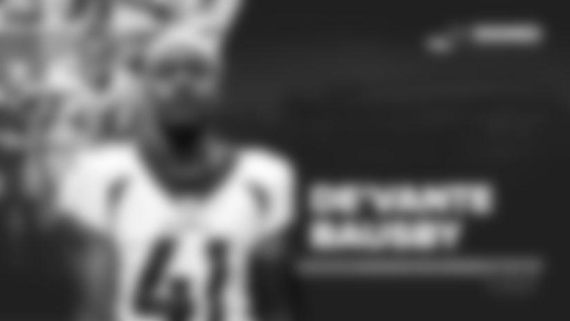 Broncos re-sign CB De'Vante Bausby