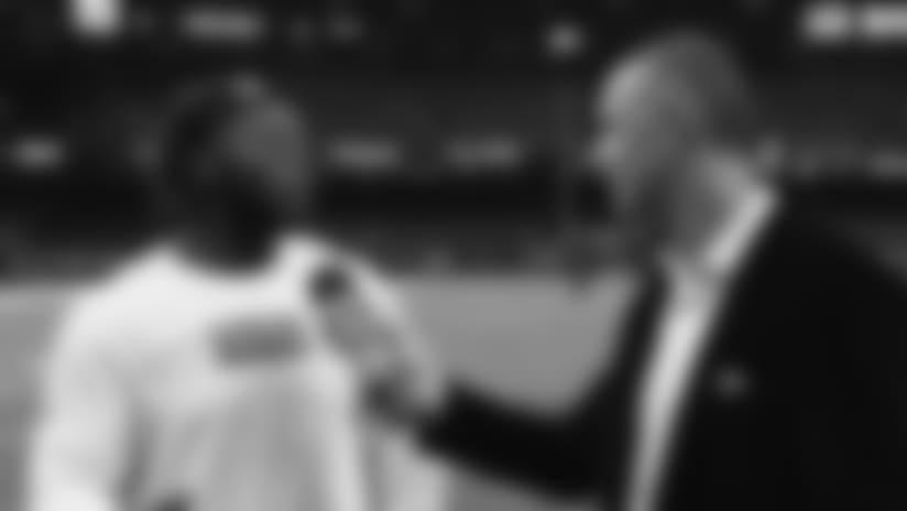 Larry Ogunjobi Postgame Interview vs. Saints