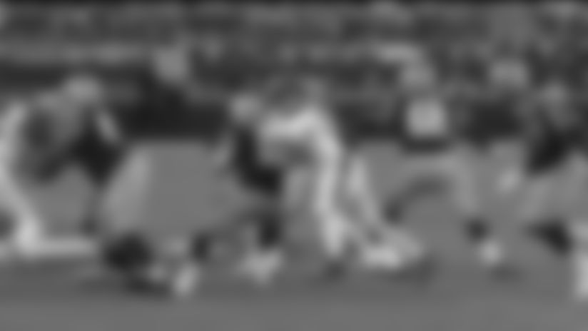 Myles Garrett clamps down on Jimmy G for key third-down sack
