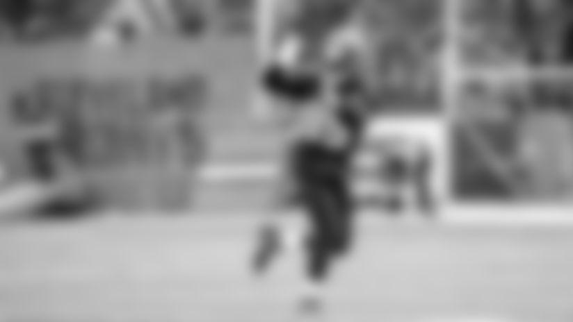 David Njoku's impatience drove him back to the field after wrist injury