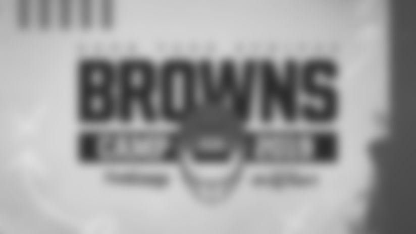 2019 Browns Training Camp features 15 free open practices, beginning July 25