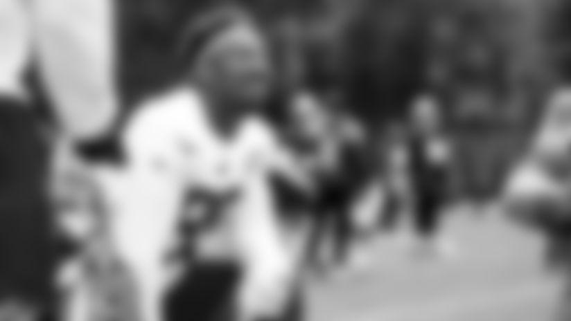 Defensive end Myles Garrett (95) during practice on September 2, 2019