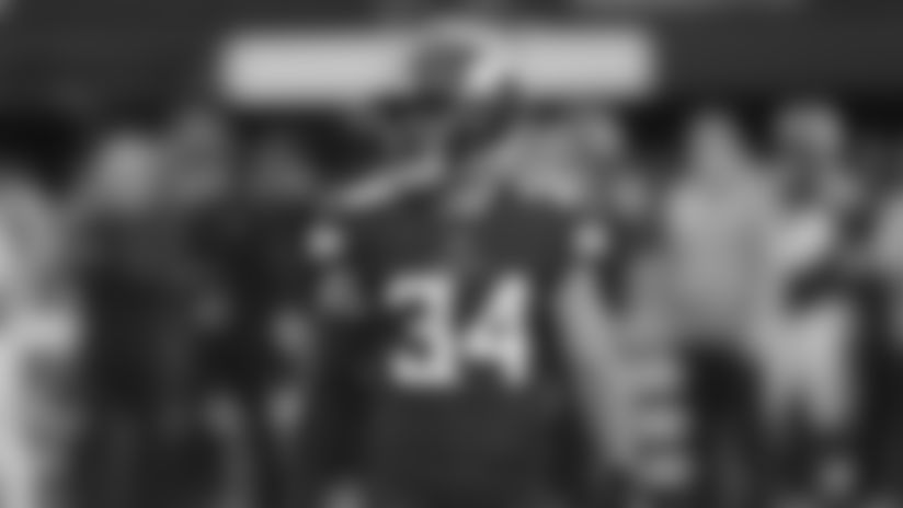 Minnesota Vikings safety Andrew Sendejo gets set against the Denver Broncos during an NFL football game Sunday, Nov. 17, 2019, in Minneapolis.(AP Photo/Jim Mone)