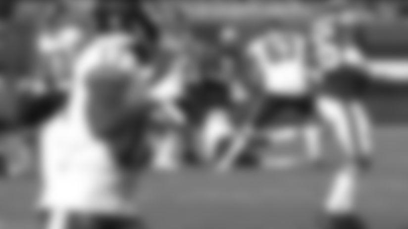 Myles Garrett with a spectacular sack vs. Washington Football Team
