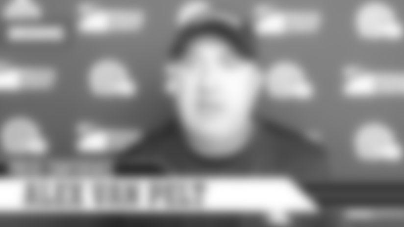 "Alex Van Pelt: ""The sense of urgency has to be high"" | Cleveland Browns"