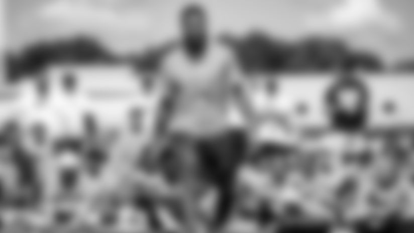 Odell Beckham Jr. Football Camp on July 23, 2019.