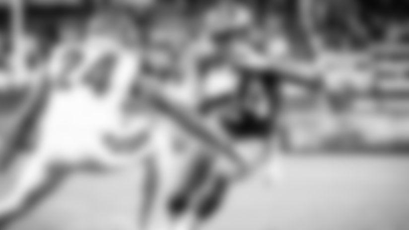 Nick Chubb, Kareem Hunt hitting their stride as a powerful backfield tandem