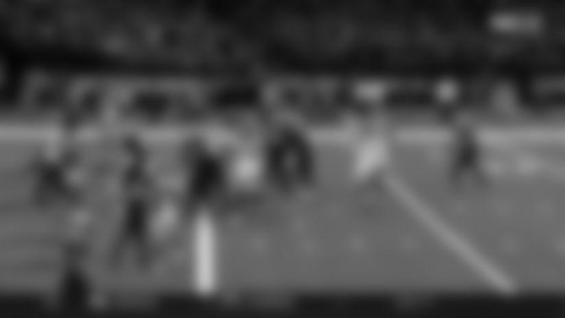 Peyton Barber Leaps into Endzone for Touchdown   Bucs vs. Saints Highlights