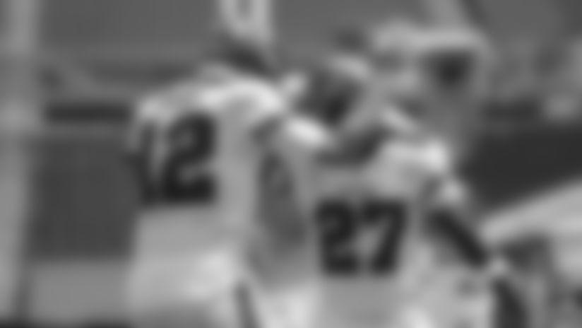 **#12 Quarterback Tom Brady & #27 Running Back Ronald Jones II**
