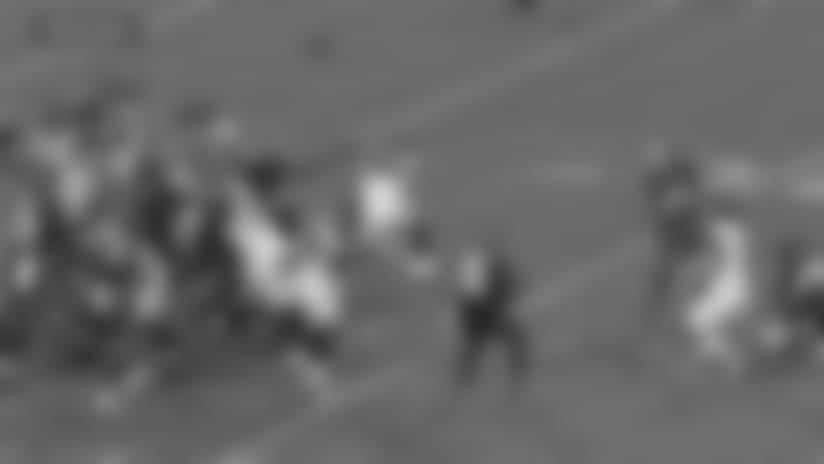 Highlight: William Gholston Blocked Field Goal