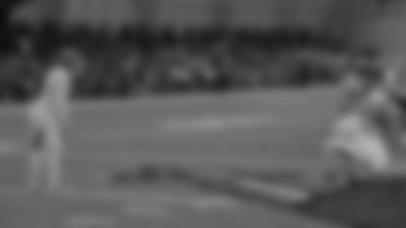 Matt Gay Boots LONG Field Goal | Camp Highlight