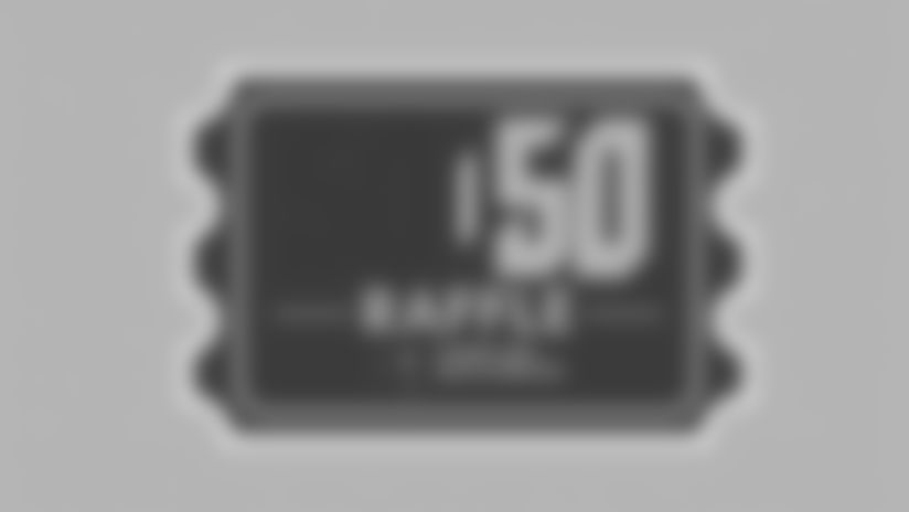 Tampa Bay Buccaneers Foundation 50/50 Raffle