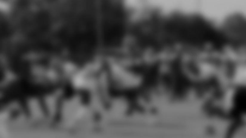 Jameis Winston TD Pass to O.J. Howard | Camp Highlight