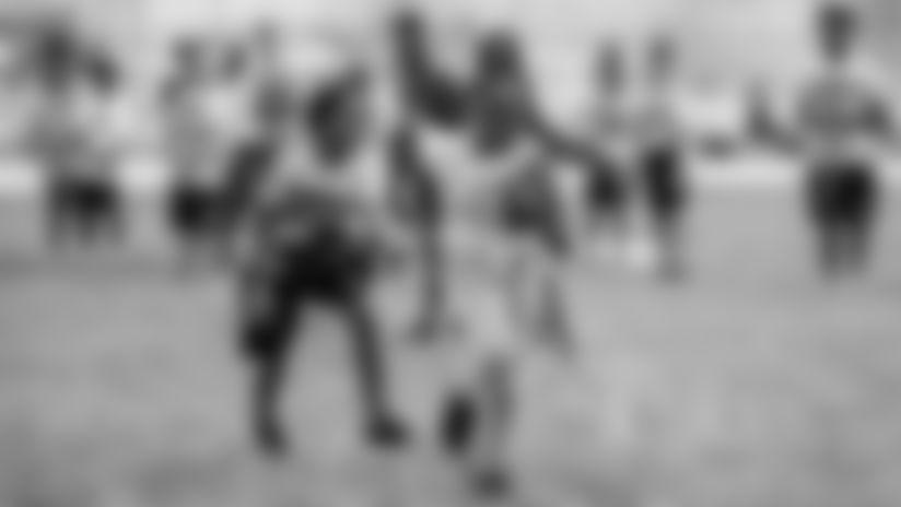 Photos from Jr. Bucs Middle School Flag Football Visit   Giunta Middle School